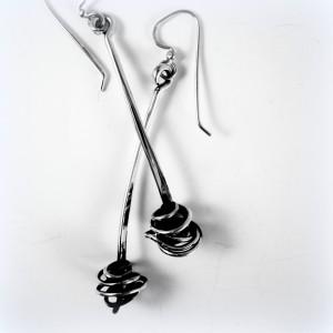 Sterling Wysteria Earrings