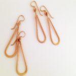 14k yellow earrings